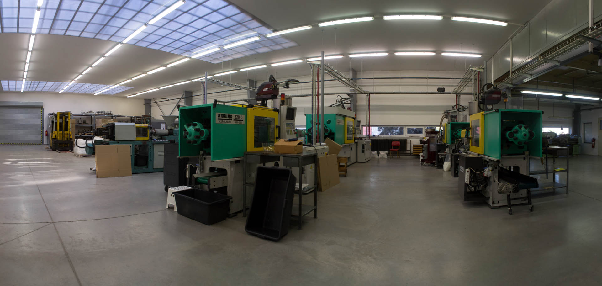 Picture of manufacturing space
